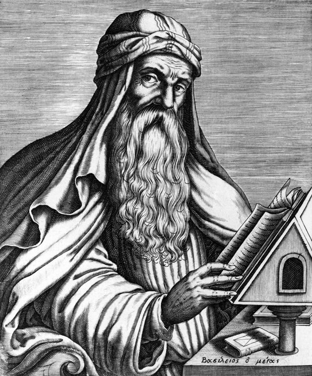 Portrait de l'évêque Basile de Césarée, considéré comme un des Pères de l'Eglise d'Orient. (Photo by API/Gamma-Rapho via Getty Images)