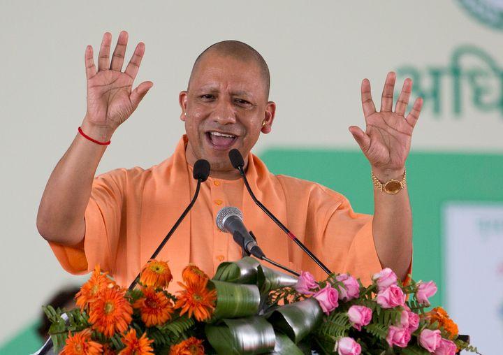 Uttar Pradesh Chief Minister Yogi Adityanath in a file photo.