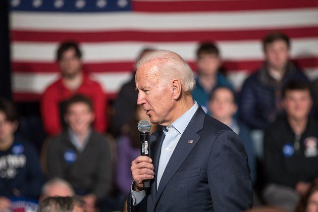 En campagne à Exeter, dans le New Hampshire, Joe Biden a surpris son monde en évoquant...
