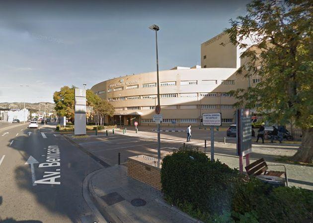 Vista del Hospital General de Castellón, donde está ingresada la