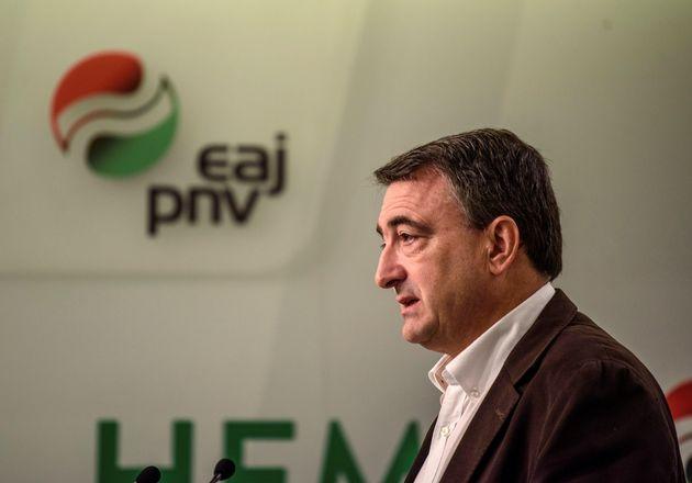 El portavoz del PNV en el Congreso, Aitor