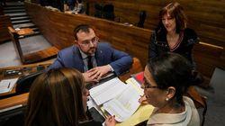 La abstención de una diputada de Cs antes de dimitir salva los presupuestos