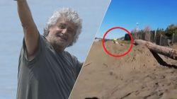 Beppe Grillo l'ottimista scava la fossa.