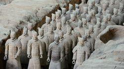 Scoperti in Cina altri 200 guerrieri di
