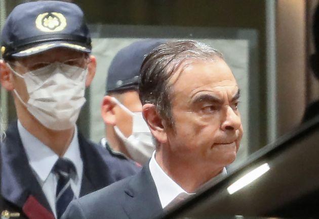 Carlos Ghosn, ici à Tokyo le 25 avril