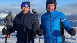 Arnold Schwarzenegger e Clint Eastwood insieme sulla neve: