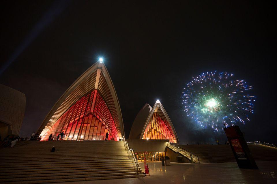 Já é ano novo na Austrália e na Nova