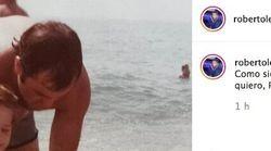 El emotivo mensaje de Roberto Leal en Instagram a su padre horas antes de dar las