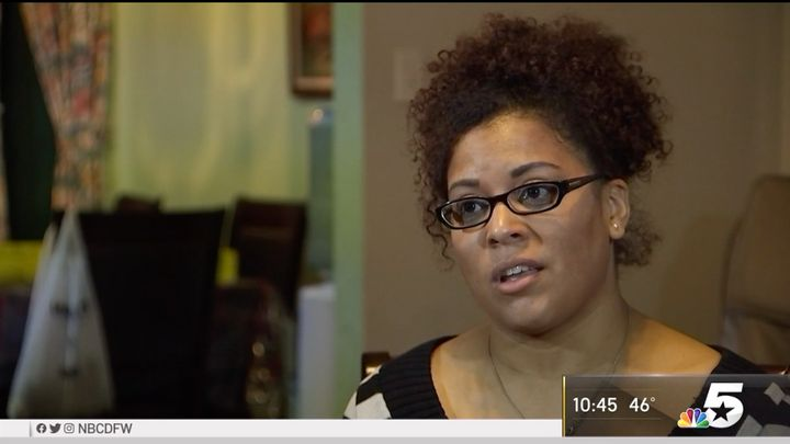 Tiffany Wallace says she has forgiven the man who was murdered her father.