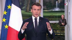 Dans ses vœux, Macron espère