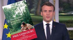 Macron a cité le prix Goncourt 2018 pour justifier sa réforme des