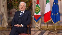 L'Italia vista dallo spazio. Il discorso di fine anno di Sergio