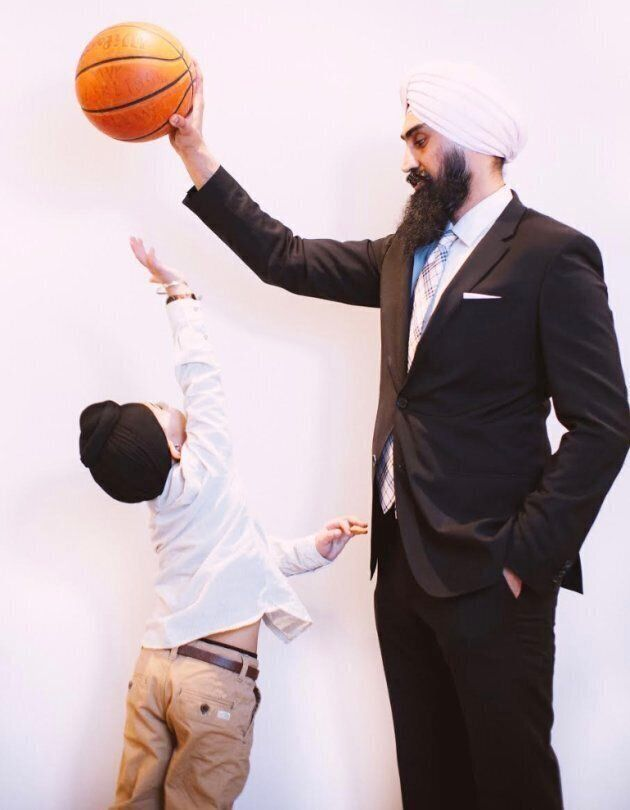 Father of two Gurpreet Singh Dhillon is a city councillor in Brampton, Ont.