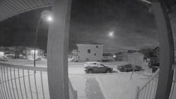 Watch: Saskatoon Doorbell Cam Catches Meteor In