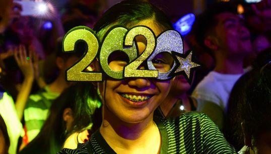 Pode vir, 2020: As imagens da chegada do Ano Novo ao redor do