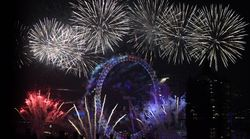 Huge Firework Displays Across The World Mark Arrival Of The New