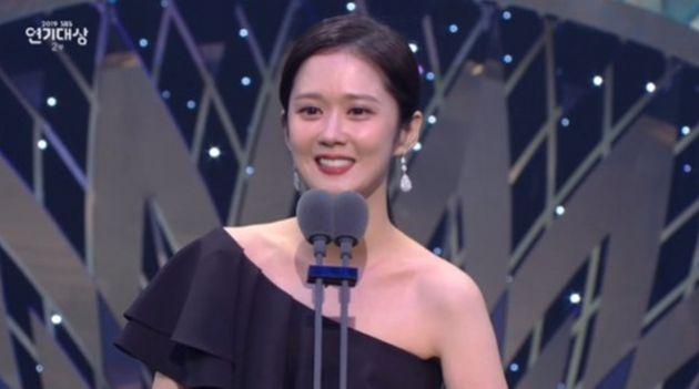 SBS 연기대상은 김남길에게 돌아갔고, 장나라는 '프로듀서상'을