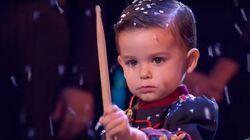 Hugo toca el tambor, pero no tiene