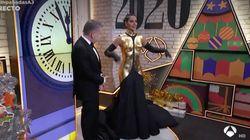 Twitter se llena de memes y montajes con el vestido de Cristina Pedroche en