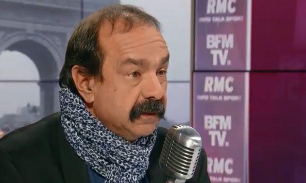 Sur BFMTV et RMC, Philippe Martinez a de nouveau appelé les Français à se mettre en grève face à la réforme...
