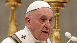 Pope Francis Apologises For 'Bad Example' Over Pilgrim Arm