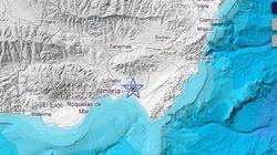 Un terremoto de magnitud 3,9 sacude Almería en el primer día del