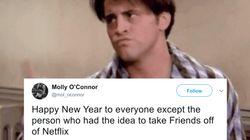 «Τα Φιλαράκια» δεν είναι πια στο Netflix και τα πρώτα παράπονα έχουν