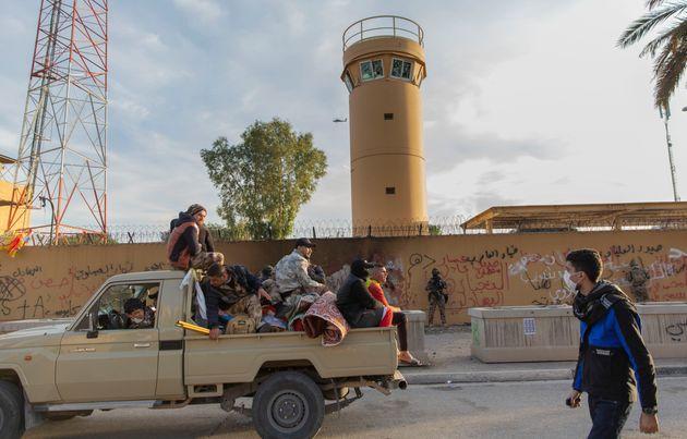 Ιράκ: Αποχώρησαν οι διαδηλωτές από την πρεσβεία των ΗΠΑ στη