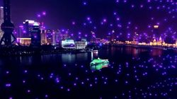 Les drones remplacent les feux d'artifices à Shanghai et...