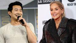 Simu Liu Asks Sharon Stone Out After She's Kicked Off