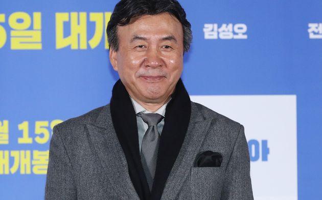 배우 박영규가 크리스마스에 네 번째 결혼식을