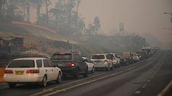 Face aux incendies, l'Australie évacue des milliers de