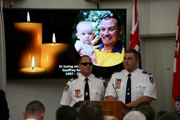 Keaton's funeral was held on Thursday and was attended by Australian Prime Minister Scott