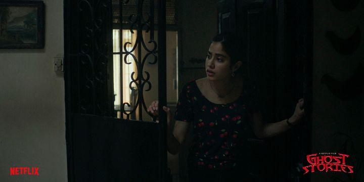 Janhvi Kapoor in Zoya Akhtar's short in 'Ghost Stories'