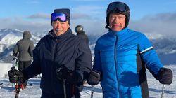 Ο Κλιντ Ιστγουντ κάνει σκι στα 90 του μαζί με τον