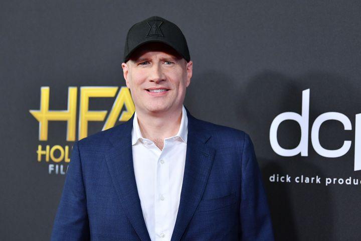 Kevin Feige, président des studios Marvel