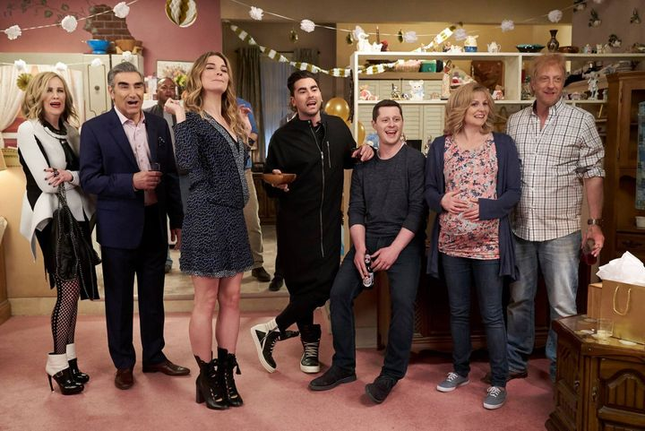 """A promotional image from the CBC show """"Schitt's Creek."""""""
