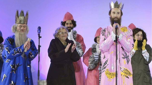 Los Reyes Magos, en 2016 con Manuela