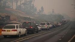 Feux de forêt: des milliers d'Australiens fuient des