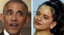 La llamativa respuesta de Rosalía a Obama: imposible decir más con