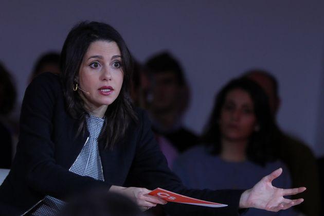 La portavoz de Ciudadanos en el Congreso,Inés