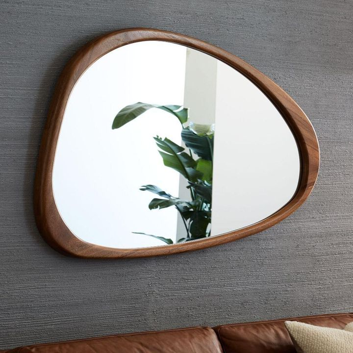 """<a href=""""https://fave.co/2FfuOYP"""" target=""""_blank"""" rel=""""noopener noreferrer"""">West Elm Asymmetrical Wall Mirror in Acorn, John Lewis,</a>&pound;349.00 &nbsp;"""