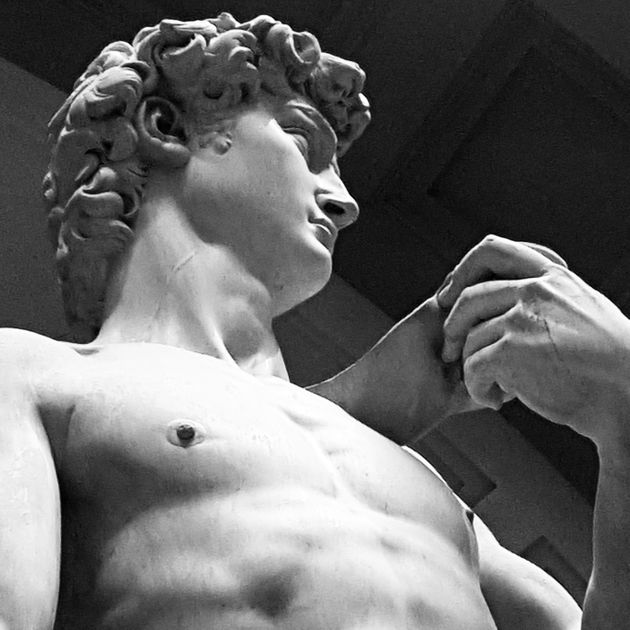 Michelangelo's David, Gallaria dell Accademia,