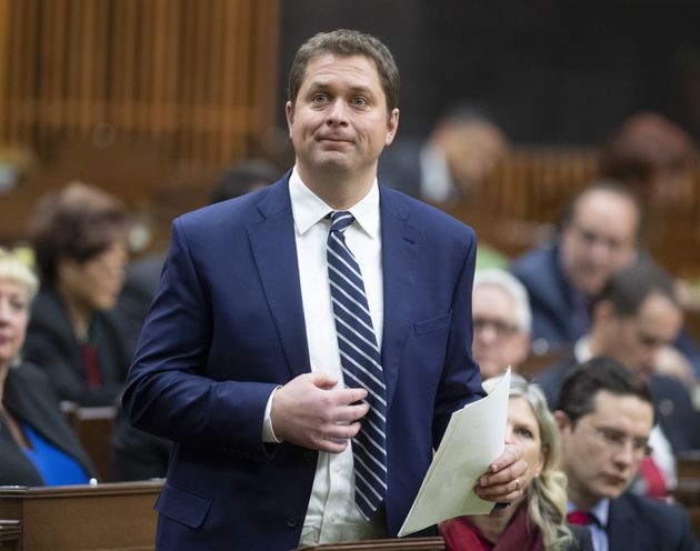 Leader of the Opposition Andrew Scheer rises to announce he will step down as leader of the Conservatives...