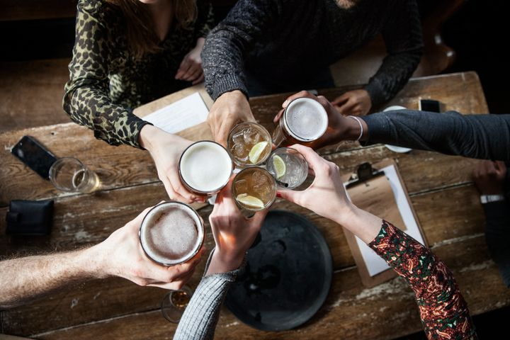 Drinking is a huge part of social life, which can make it difficult to be sober.