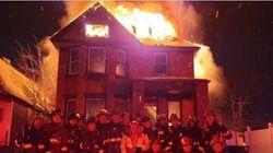 ΗΠΑ: Πυροσβέστες άφησαν σπίτι να καίγεται για να βγάλουν