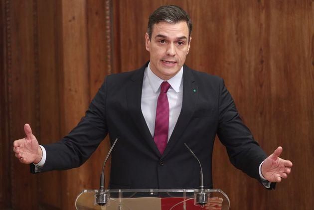 Pedro Sanchez, ici à Madrid le 30 décembre