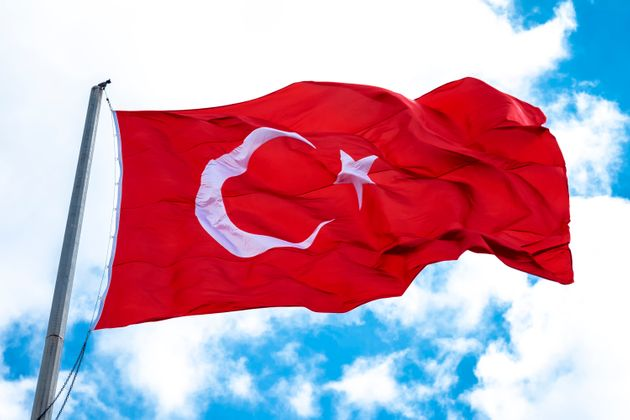 Turkish Flag In The