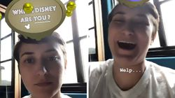 Robin Williams's Daughter Gets Sweet Surprise From Disney Character Filter On