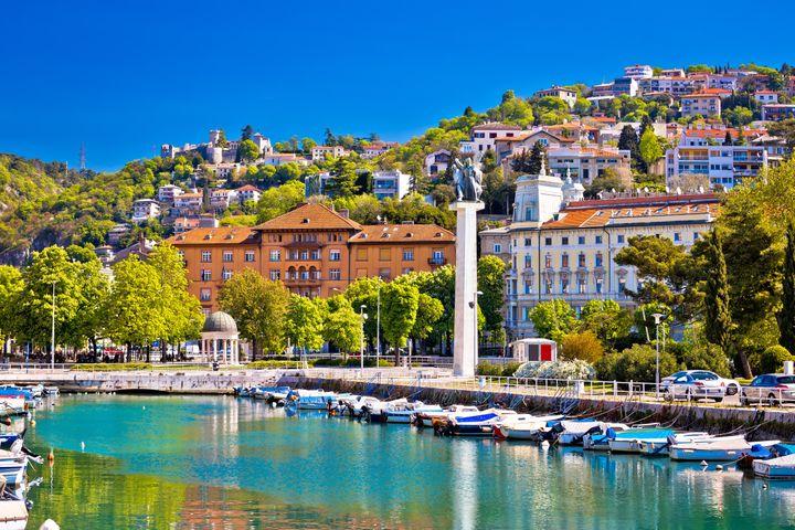 Rijeka, na Croácia.